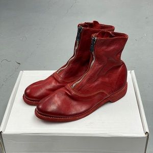Guidi 210 Front Zip Boots
